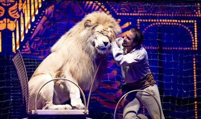 Помощь цирку Krone Germany